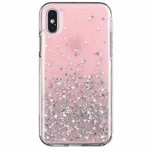Блестящ гръб WOZINSKY Star - Samsung Galaxy A42 5G розов