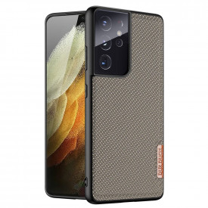 Гръб DUX DUCIS Fino - Samsung Galaxy S21 Ultra зелен