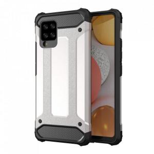 Гръб Hybrid Armor - Samsung Galaxy A42 5G сребрист