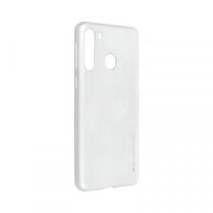 Гръб i-Jelly Mercury - Samsung Galaxy A21 сребрист