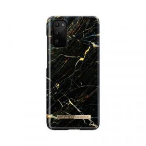 Гръб iDeal Of Sweden - Samsung Galaxy S20 черен-екрю-мрамор