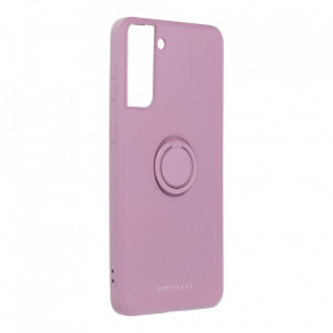Гръб Roar Amber с държач - Samsung Galaxy S21 Plus лилав