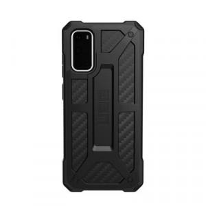 Гръб UAG Monarch - Samsung Galaxy S20 черен карбон