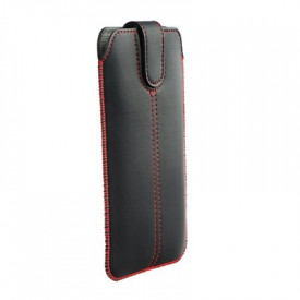 Калъф тип джоб FORCELL Ultra Slim M4 - iPhone 6 / 7 / 8 / - Samsung Galaxy i9500 Galaxy S4 / Galaxy A3 черен
