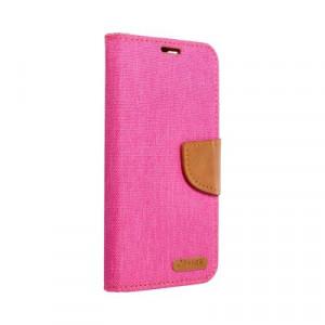 Калъф тип книга Canvas - iPhone 12 Mini розов