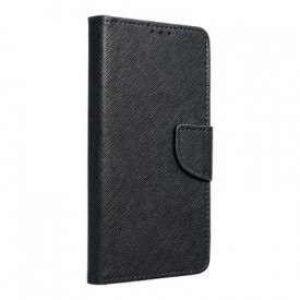 Калъф тип книга Fancy - iPhone 12 черен