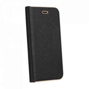 Калъф тип книга Luna - Samsung Galaxy A12 черен