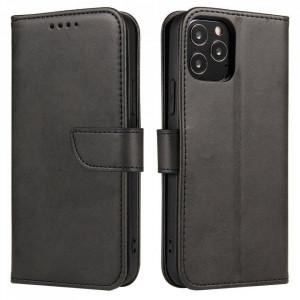 Калъф тип книга Magnet Elegant - Huawei P40 Lite E черен