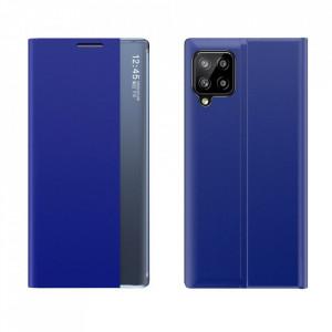 Калъф тип книга New Sleep със стойка - Samsung Galaxy A12 син