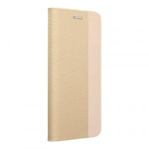 Калъф тип книга Sensitive - iPhone 12 Mini златист
