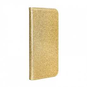 Калъф тип книга Shining - Samsung Galaxy S20 Ultra златист