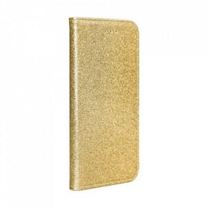 Калъф тип книга Shining - Samsung Galaxy S21 Ultra златен
