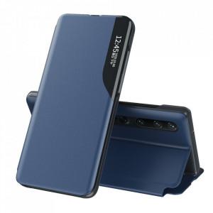 Кожен калъф тип книга ECO - Xiaomi Mi 10T 5G/ Mi 10T Pro 5G син