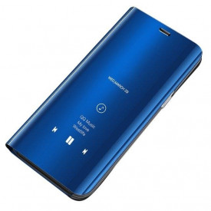Огледален калъф тип книга Clear View - Samsung Galaxy A5 2018 син