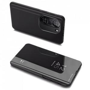 Огледален калъф тип книга Clear View - Xiaomi Mi 11i / Poco F3 / Poco F3 Pro / Redmi K40 / Redmi K40 Pro черен