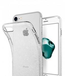 Оригинален гръб Spigen Liquid Crystal - iPhone 7 / 8 блестящо кристален