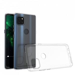 Прозрачен силиконов гръб 0.5mm - Motorola Moto G 5G прозрачен