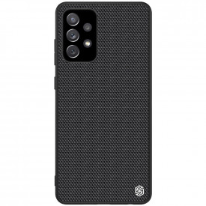 Релефен гръб Nillkin с гел рамка - Samsung Galaxy A72/A72 5G черен