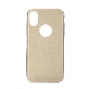Силиконов гръб FORCELL Shining - iPhone 11 златист