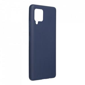 Силиконов гръб FORCELL Soft - Samsung Galaxy A42 5G тъмносин
