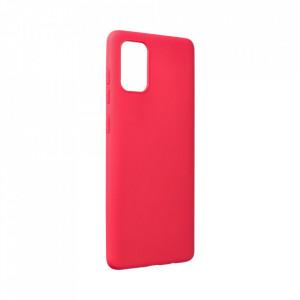 Силиконов гръб FORCELL Soft - Samsung Galaxy A72/A72 5G червен