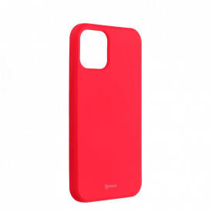 Силиконов гръб ROAR Colorful Jelly - iPhone 12 / 12 Pro циклама