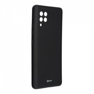 Силиконов гръб ROAR Colorful Jelly - Samsung Galaxy A42 5G черен