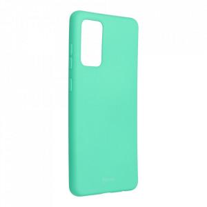 Силиконов гръб ROAR Colorful Jelly - Samsung Galaxy A72 / A72 5G мента