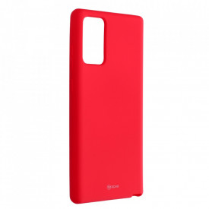 Силиконов гръб ROAR Colorful Jelly - Samsung Galaxy Note 20 циклама