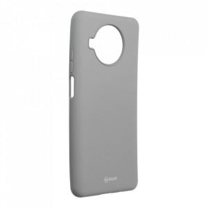 Силиконов гръб ROAR Colorful Jelly - Xiaomi Redmi Note 9 Pro 5G сив