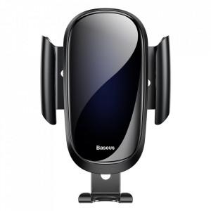 Стойка за телефон за въздуховод на кола BASEUS Future Gravity черен (SUYL-WL01)