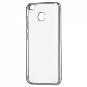 Тънък гръб с кант - Xiaomi Redmi 4X сребърен
