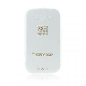 Ултратънък силиконов гръб 0.3mm - iPhone 5 / 5S / SE прозрачен