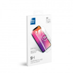 5D Full Glue закален стъклен протектор BLUE STAR - Samsung Galaxy A42 5G (full glue) черен