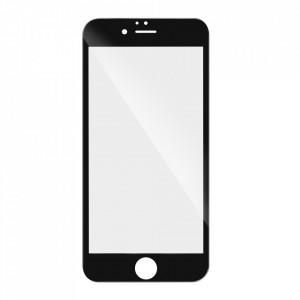 5D Full Glue закален стъклен протектор - Motorola G9 Power черна рамка