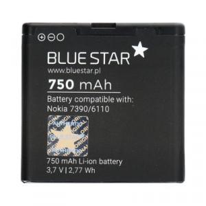 Батерия - Nokia 7390 / 6110 Navigator / 8600 Luna / 6500 Slide / 5610 750mAh Li-Ion BLUE STAR