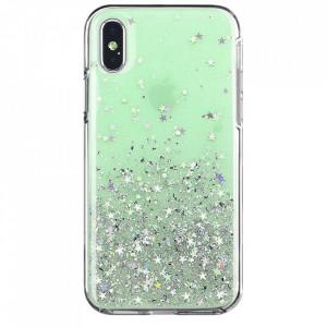Блестящ гръб WOZINSKY Star - Samsung Galaxy A42 5G зелен