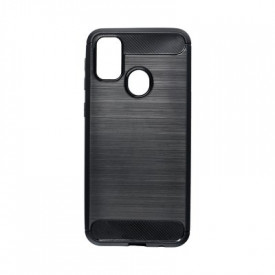 Гръб FORCELL Carbon - Samsung Galaxy M21 черен