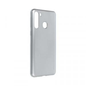 Гръб i-Jelly Mercury - Samsung Galaxy A21 сив