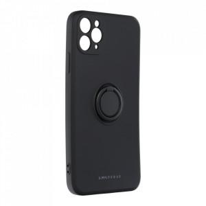 Гръб Roar Amber с държач - iPhone 11 Pro Max черен
