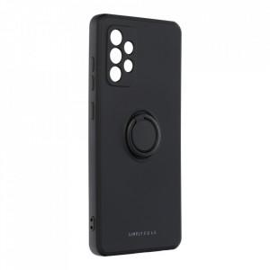 Гръб Roar Amber с държач - Samsung Galaxy A72 5G / A72 черен