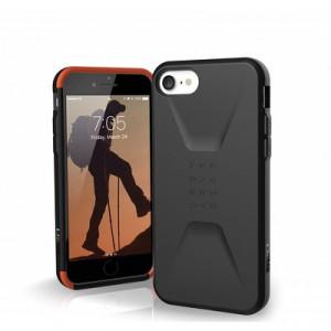 Гръб UAG Civilian - iPhone 7 / 8 / SE 2020 черен