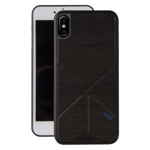 Гръб UNIQ Transforma Ligne - iPhone X / XS черен