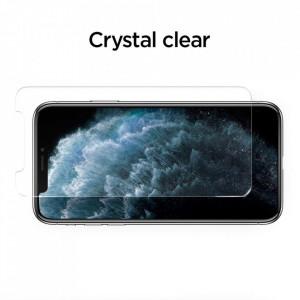 Закален стъклен протектор Spigen Align Master TR Slim с рамка за поставяне (сет от 2 бр.) - iPhone 11