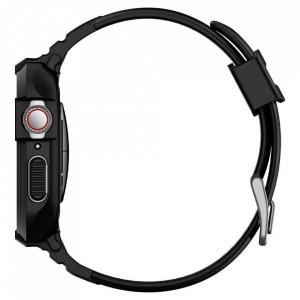 Каишка Spigen Rugged Armor - Apple Watch 4 / 5 40mm черен