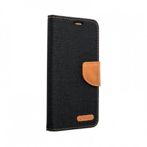 Калъф тип книга Canvas - iPhone 12 / 12 Pro черен