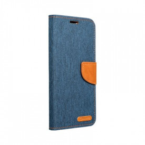 Калъф тип книга Canvas - Samsung Galaxy A50 тъмносин