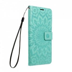 Калъф тип книга Forcell MEZZO - Samsung Galaxy A12 мандала / зелен