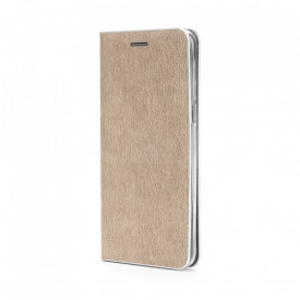 Калъф тип книга Luna Silver - Samsung Galaxy S21 Ultra златист