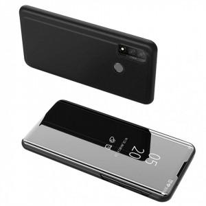 Огледален калъф тип книга Clear View - Huawei P Smart 2020 черен